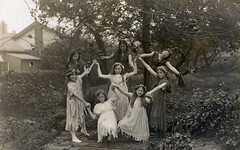 A group of flower fairies (lovedaylemon) Tags: old flower vintage found dance fairy norwich swain