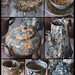 Agate earthenware - collage