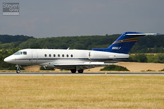 N86LF - RC-18 - Private - Hawker Beechcraft 4000 - Luton - 100802 - Steven Gray - IMG_0887