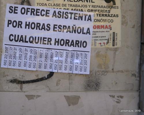 Por horas española