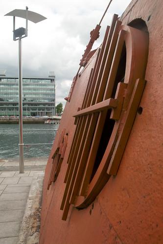 Dublin Docklands - Old Diving Bell
