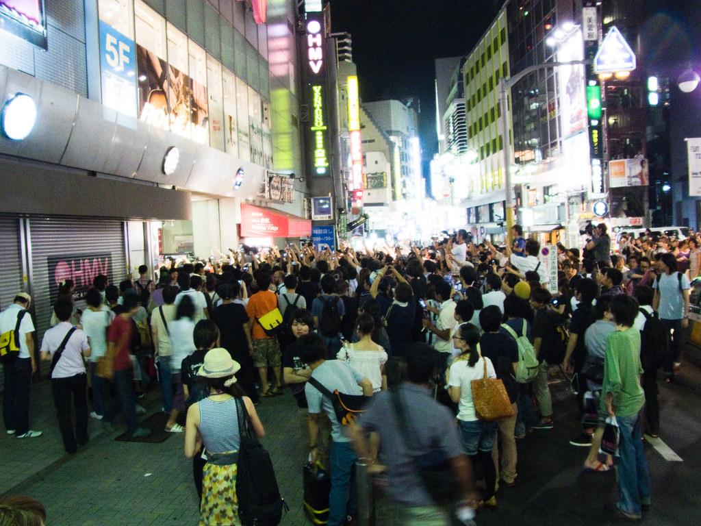 The Last day of HMV shibuya Japan1274