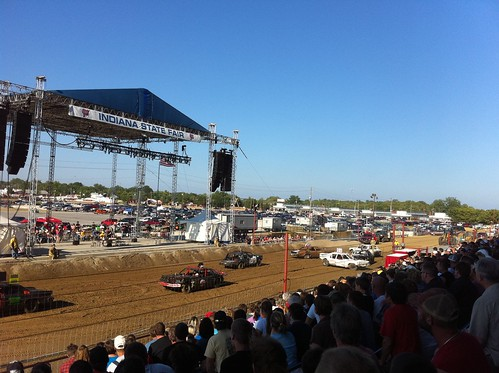 Demolition Derby at the Indiana State Fair