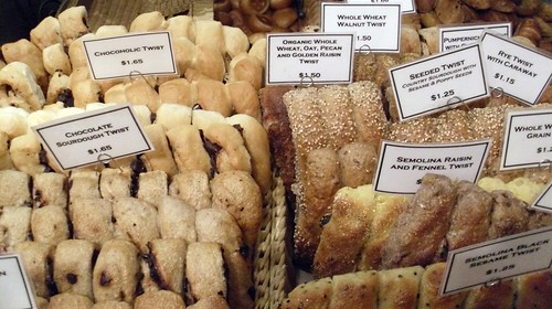 Amy's Bread Twists at Chelsea Market