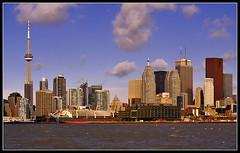 Toronto from Polsen Street (Alex Me) Tags: by mm nikkor cokin f3545 35135 varifilter torontoflatiron
