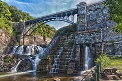 Croton Dam Bridge - HDR (lijk604) Tags: bridge newyork water canon hdr tokina1224mmf4 crotononhudson 3exp cs5 canon40d crotondampark johnklos cs5hdrpro