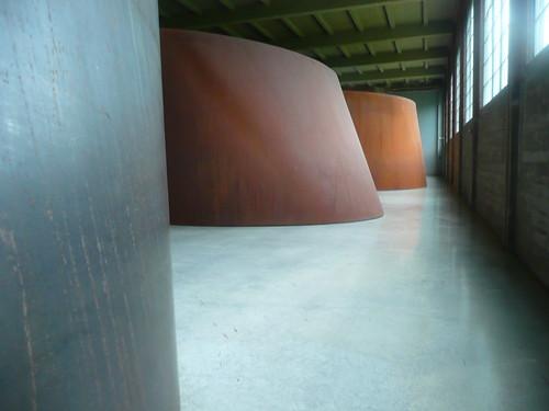 amazing richard serra installation.