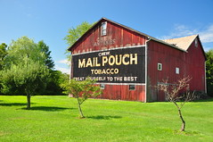 Mail Pouch (BlakeLewisPhotography) Tags: ohio red beautiful beauty barn rural landscape cool pretty mail farm awesome barns pouch farms tobacco nikond90
