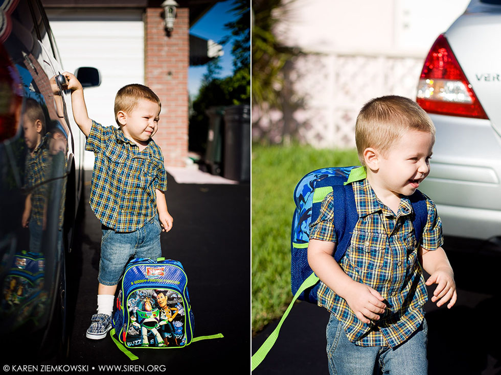 First day of Preschool.