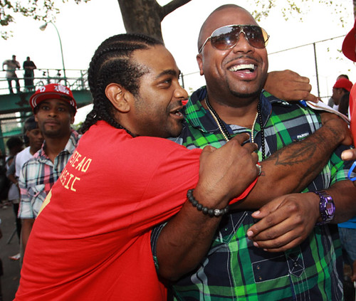 jim jones Nore , dj clue woo kid and more @ the Derrick Michael Armstead Memorial Basketball Tournament