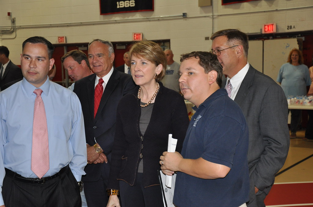AG Coakley, Mayor Flanagan and Jamison Souza
