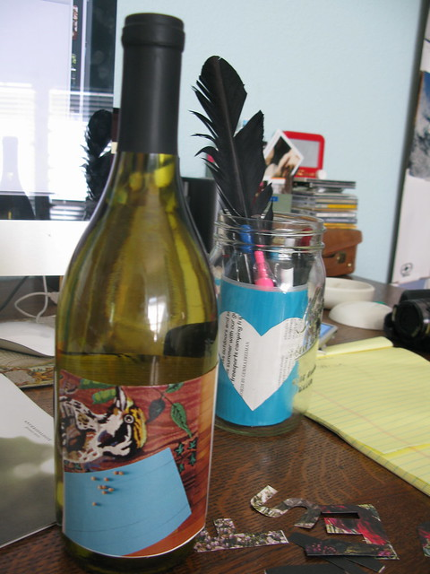 make your own wine label.