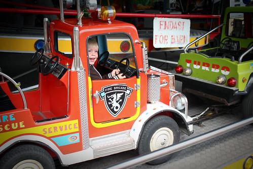 Gusten och brandbilen
