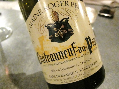 Chateauneuf du Pape Blanc Roger Perrin Tippling Club