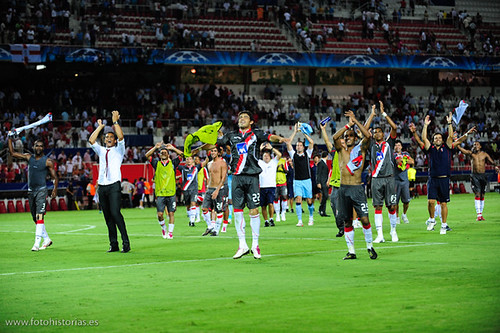 Champions League: Sevilla FC 3- Sporting de Braga 4