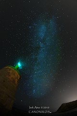 Zumaia  Via lactea /  Milky way (saki_axat) Tags: sky canon stars astronomy milkyway 50d vialactea