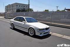 White e39 M5 8-27-10 3 (european auto source) Tags: white silver bmw lm bbs m5 stoptech e39