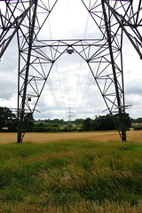 Wimborne Pylons (Ros Marinus) Tags: sky field grass electric nikon country wires dorset mast pylons ahhh wimborne d40