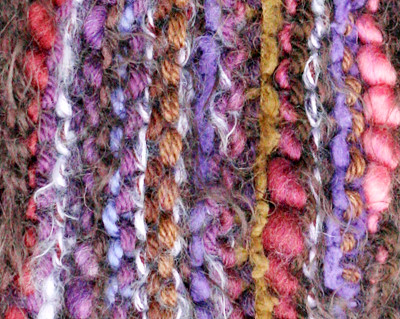 Wacky scarf, close up