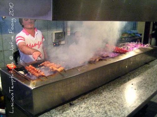 Grilling Meat - Mangal Ocakbaşı, Dalston