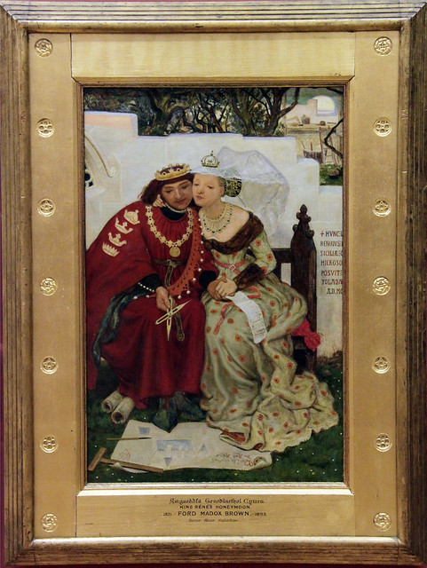 King Rene's Honeymoon - Architecture, Ford Madox Brown, 1964