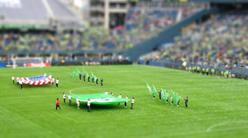 seattle sounders tiltshift
