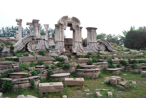 q11 - Great Fountain Ruins at Old Summer Palace
