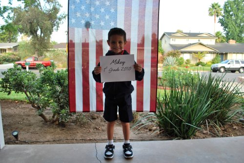 1st day of school (m) 2010