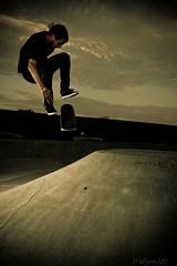 IMG_5632 (Chris Meium Photography) Tags: west alex night canon skateboarding cement rail tokina tricks skatepark flip northdakota nd danny skateboard trick grind fargo dike 1224 50d strobist