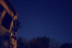 The Most Stars (I've Ever Seen) (TheOrganicSister) Tags: travel blue trees sky tree night dark stars missouri rv treeline motorhome constellations starlight fotr dancingrabbitecovillage