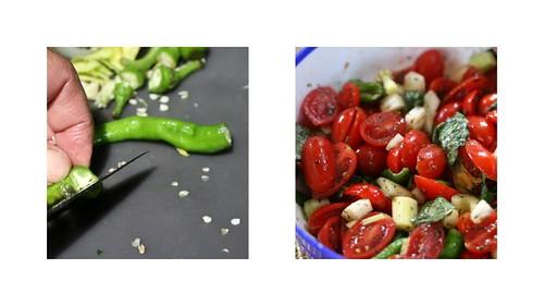 insalata di pomodorini (tomato salad)
