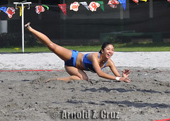 Pau Soriano of Adamson University (arnold_cruz) Tags: beach volleyball uaap