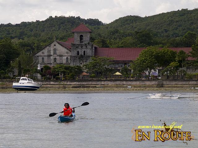 Kayaking near Baclayon Baluarte