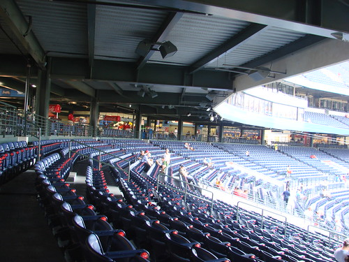 Turner Field Behind Homeplate Stands