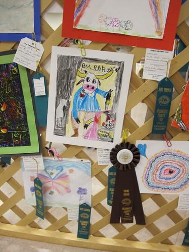Lil' Mermaids Crayon Fair entry