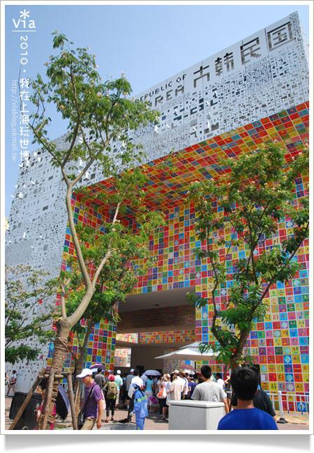 【2010上海世博會】Via帶你玩~浦東A、C片區國家館!18