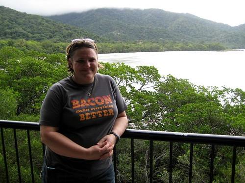 Louise at Cape Tribulation