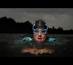 The Three Triathletes #1 (PIXistenz) Tags: water digital belgium strobism pixistenz d700 svenprims