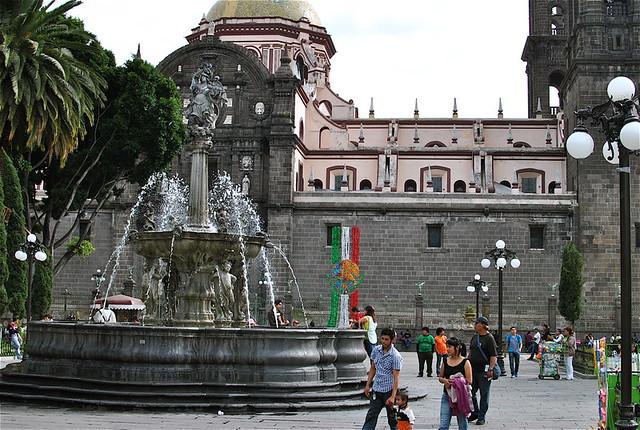 El Zocalo Fountain