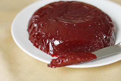Homemade Jellied Cranberry Sauce Recipe