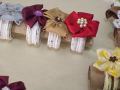 Porta guardanapo !!! (cuoreditrappo) Tags: flor porta fuxico tecido guardanapo