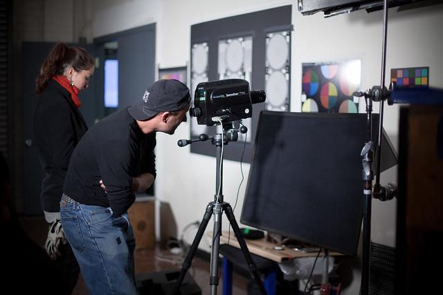 Zacuto Great Camera Shootout 2011 BTS
