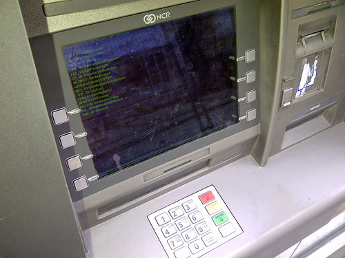 Hacking an ATM