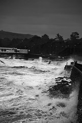waves (B J R) Tags: sea storm landscape waves wind gales rough seascpae