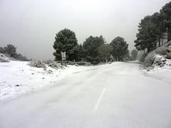 Bocca di Larone : vue depuis le col vers Bavella