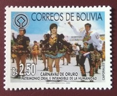 "stamp ""Carnaval de Oruro"" (Bolivia 2002) (Sasha India) Tags: bolivia stamps philately sellos briefmarken"