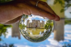 Bodiam Castle (FLAWLESSFOCUSLTD) Tags: bodiamcastle bodiam visitengland england ntsoutheast ntengland sussex eastsussex southeast crystalball glassball architecture nationaltrust castle