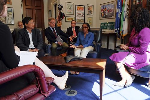 PEPFAR and Global Fund Advocacy in Washington, D.C.