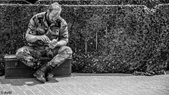 Camouflage (Ramireziblog) Tags: camouflage royal marines navy days marinedagen den helder candid street canon 6d korps mariniers