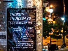 NB june 30 (johnemount) Tags: night urban street newbrunswick thursbays thursbay crownroyal regalapple captainmorgan djpudge oldbay